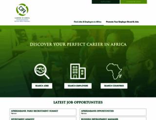 careersinafrica.com screenshot