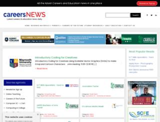 careersnews.ie screenshot