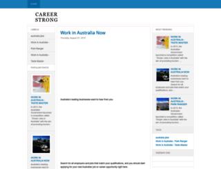 careerstrong.blogspot.com screenshot