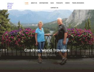 carefreeworldtravelers.com screenshot