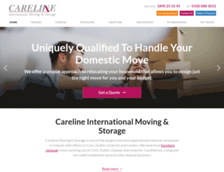 careline.ie screenshot