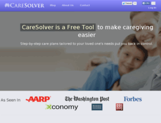 caresolver.com screenshot