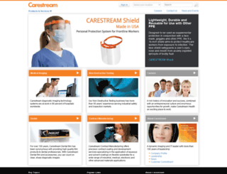 carestream.in screenshot