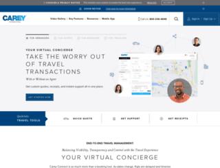 careyconnect.com screenshot