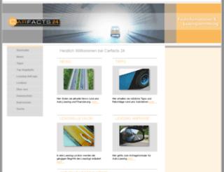 carfacts24.de screenshot