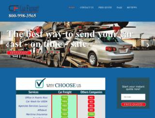 carfreight.net screenshot