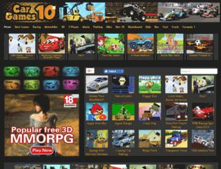 cargames10.net screenshot