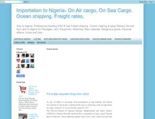 cargoclearing.blogspot.com.ng screenshot
