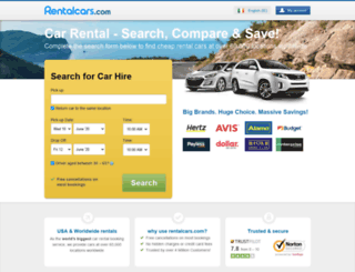 carhire3000.ie screenshot