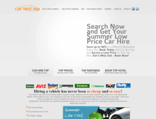 carhiretop.com screenshot