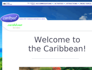 caribbean-guide.info screenshot