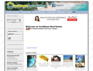 caribbean-real-estates.com screenshot