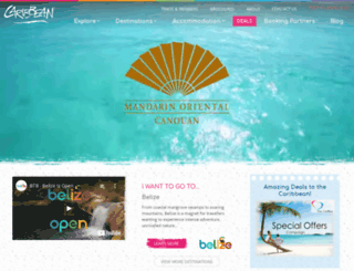 caribbean.co.uk screenshot