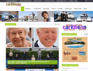 caribbeanworld-magazine.com screenshot
