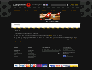 caribee-uk.com screenshot
