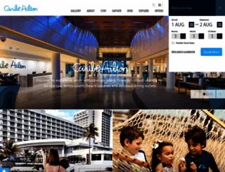 caribehilton.com screenshot