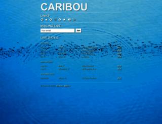 caribou.fm screenshot