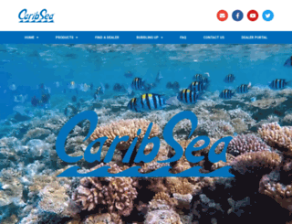 caribsea.com screenshot