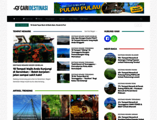 caridestinasi.com screenshot