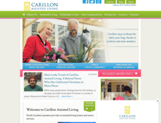 carillonassistedliving.com screenshot