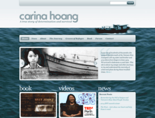 carinahoang.com screenshot