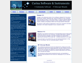 carinasoft.com screenshot