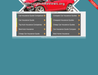 carinsurancereviews.org screenshot
