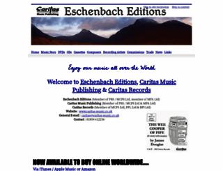caritas-music.co.uk screenshot