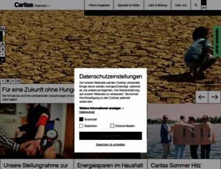 caritas.at screenshot