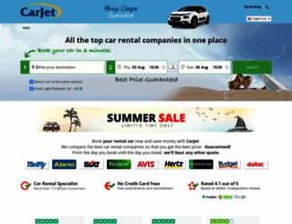 carjet.com screenshot