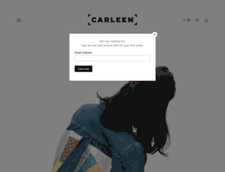 carleen.us screenshot