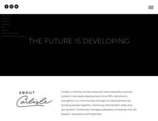 carlislecorp.com screenshot