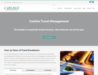 carlisletravel.com screenshot