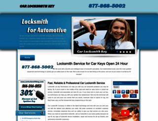 carlocksmithkey.com screenshot
