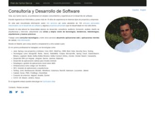 carlos-garcia.es screenshot
