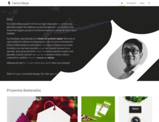carlosmaya.com screenshot