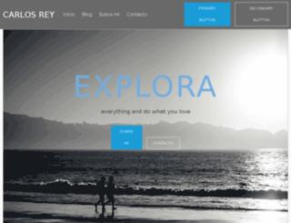 carlosreyportafolio.com screenshot