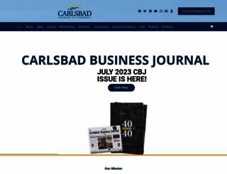 carlsbad.org screenshot