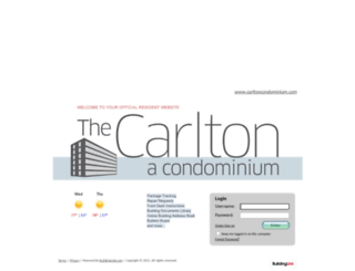 carltoncondominium.buildinglink.com screenshot