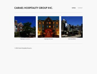 carmelhospitality.com screenshot