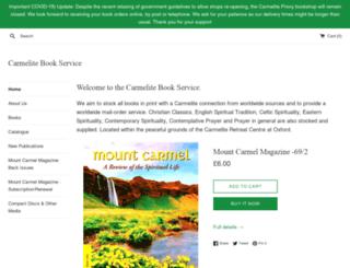 carmelite.org.uk screenshot