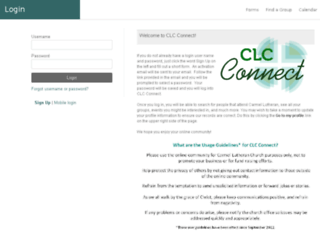 carmellutheran.ccbchurch.com screenshot