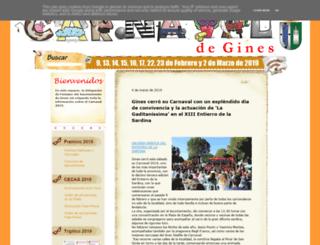 carnavaldegines.blogspot.com screenshot