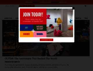 carnegiemuseums.org screenshot