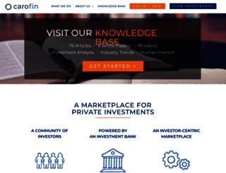 carofin.com screenshot