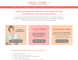 carolehyder.com screenshot