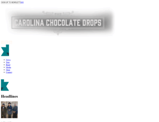 carolinachocolatedrops.com screenshot