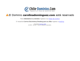 carolinadominguez.com screenshot