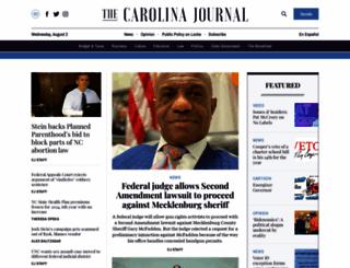 carolinajournal.com screenshot