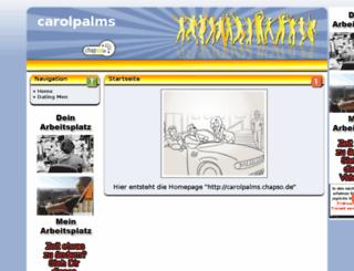 carolpalms.chapso.de screenshot